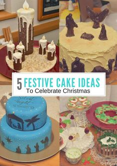Do you want some fabulous ideas for making Christmas Cakes? Then this is the post to visit. Come and take a look at these fantastically decorated Christmas Cakes Christmas Festive Cakes Cake decorating Baking Christmas Cakes Cake Ideas Christmas Baking Cooking Decorating Xmas