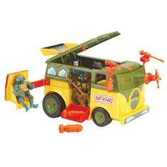 Teenage Mutant Ninja Turtles - Turtle Party Wagon (Mutant Attack Van) Playmates http://www.amazon.com/dp/B00EPUSB8Y/ref=cm_sw_r_pi_dp_W.4wub1RGT3XC
