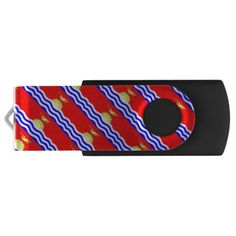Shop Kiribati, flag USB flash drive created by AwesomeFlags. Usb Drive, Usb Flash Drive, Kiribati Flag, National Flag, Create Yourself, Flags, Travel, Viajes