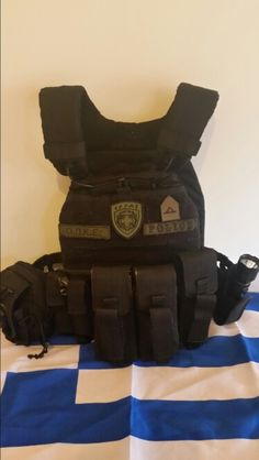 Hellenic Police 5.11 Tactec Plate carrier