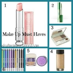 Make-Up Must Haves