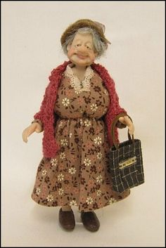 12th Scale Character Doll ~ Handmade by joy ~ Adora Bella Minis