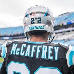 Carolina Pathers, Carolina Panthers Helmet, Christian Mccaffery, Love My Boys, Best Fan, National Football League, Nfl Football, Cam Newton, 4 Life