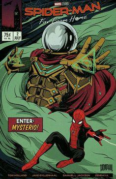 Spider-Man Far From Home Fanart Comic Book