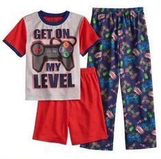Boy's size Shorts are solid red. Pj Shorts, Pant Shirt, Red Shirt, Boys Pjs, Girls Pajamas, Pokemon Pajamas, Paw Patrol Shirt, Old Navy Pajamas, Minnie Mouse Shirts