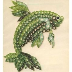 *QUILLING ~ Picture Kit - Siamese Fighting Fish