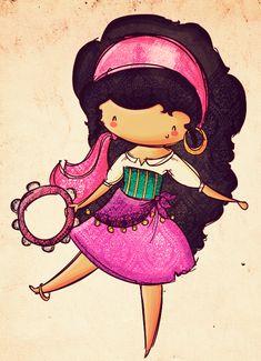Chibi Tiana   legal da Esmeralda chibi da Agus é que ela vem toda animada e ...