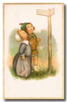 3 cartes vintage enfants - Page 8