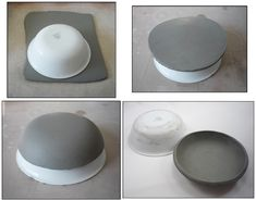 New Pics pottery bowls slab Strategies Simple Slab Pottery Ideas Sgraffito, Pottery Plates, Slab Pottery, Ceramic Pottery, Diy Air Dry Clay, Diy Clay, Ceramic Techniques, Pottery Techniques, Beginner Pottery