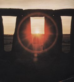 Stonehenge, the sunrise of the summer solstice #sunshine #summer #solstice