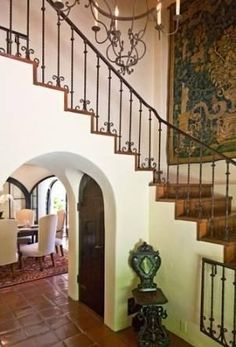 1000 Images About SPANISH REVIVAL RAILINGS STAIR On