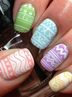 Canadian Nail Fanatic: Easter Eggs!!