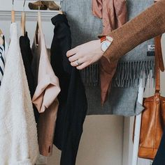 Getting dressed is such a feel-good process when its filled with quality pieces youre proud to own.  (P.S. you can add these beautiful & ethically-made pieces from @thegarmentlife into your Cladwell Closet!) #shopsmall #knowthemaker #sustainablefashion #cladwell #wearwhatyoulove #capsulewardrobe  www.cladwell.com/app | Link in bio to Download