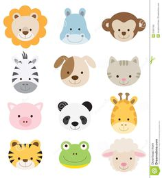 baby shower animals - Buscar con Google