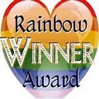 """I was stoked when """"Red+Blue"""" was judged equal third in Elisa Rolle's Rainbow Awards for Best Gay Contemporary Romance for repeating the feat I achieved with """"Caught"""" the previous year. Feminist Issues, Previous Year, Award Winner, Feminism, Red And Blue, Third, Awards, Gay, Romance"""
