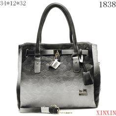 Coach Chelsea Leather Jayden Carry X1838 - Gray