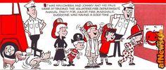 The Junior Fire Marshal Magazine Fall 1961 - http://www.afnews.info/wordpress/2016/08/09/the-junior-fire-marshal-magazine-fall-1961/