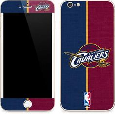 5827637a58a Cleveland Cavaliers Canvas iPhone 6 6s Plus Skin. Available as a case or  skin. Skinit