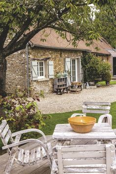 Une maison brocante en Normandie