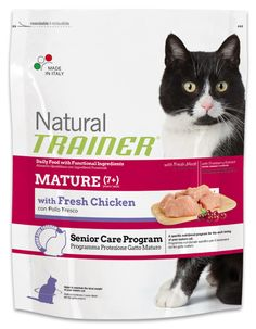 TRAINER NATURAL MATURE with fresh chicken