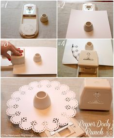 Paper Doily Punch for Paper Doily Placemate, Place Settings, & Invitations