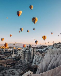 Your New Year, New You Travel Wish List for 2018 | Cappadocia