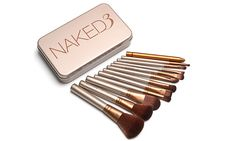 Cheap makeup brush, Buy Quality naked 3 brushes directly from China new nake Suppliers: Best Makeup Brushes 12 Pcs new brush, Makeup Brush kit Sets for eyeshadow blusher Cosmetic Brushes Tool 2016 Hot ! Best Makeup Brushes, It Cosmetics Brushes, Makeup Cosmetics, Best Makeup Products, Beauty Products, Makeup Blog, Makeup Kit, Eye Makeup, Cosmetic Brush Set
