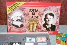 LOTTA DI CLASSE – Mondadori Giochi 1979 2 edizione nuovo regolamento Reagan