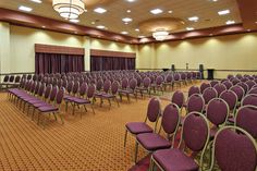 The Gatsby holds 156 people seated in Classroom Style, 280 in Theatre/Reception Style and 150 in Banquet Rounds.