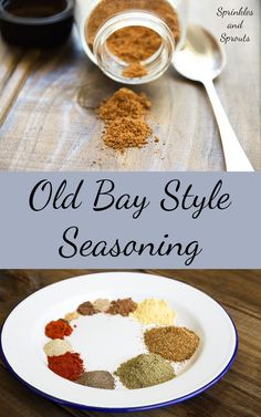 Homemade Old Bay Style Seasoning. A wonderful mix of herbs and spices, perfect for crab, shrimp, chicken and so so much more. Homemade Old Bay Style Seasoning Homemade Spices, Homemade Seasonings, Homemade Old Bay Seasoning Recipe, Spice Blends, Spice Mixes, Get Thin, Spice Rub, Seasoning Mixes, Shrimp Boil Seasoning Recipe