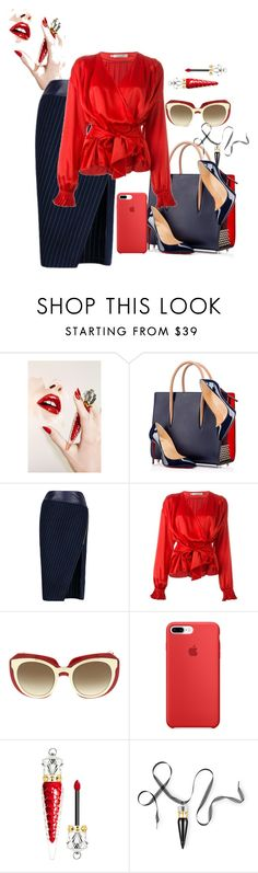 """Untitled #639"" by the-luxurious-glam ❤ liked on Polyvore featuring Christian Louboutin, Christian Dior and Dolce&Gabbana"