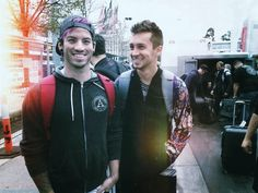Tyler Joseph and Josh Dun Twenty One Pilots skeleton clique stay street stay…