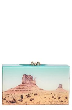 Charlotte Olympia 'Pandora - Panoramic' Box Clutch available at #Nordstrom
