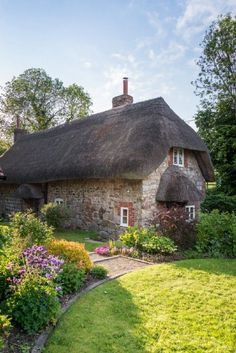 Faerie Door Cottage, luxury self-catering breaks in Wiltshire; cottage breaks in Wiltshire - Luxury Report Fairytale Cottage, Storybook Cottage, Little Cottages, Cabins And Cottages, Luxury Cottages, English Country Cottages, English Countryside, Country Homes, Cottage Breaks