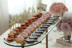 Bonbons Amour! Your baby shower guests won't be able to resist these chocolate caramels, strawberry madelines and petite cakes.