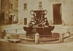 1855 circa Dovizielli Piero . Piazza Mattei, fontana delle Tartarughe. Rome, Painting, Painting Art, Paint, Draw, Paintings, Rum, Rome Italy