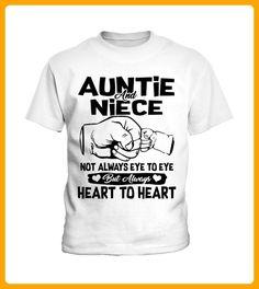 Auntie and Niece Always Heart to Heart - Shirts für neffen und nichten (*Partner-Link)