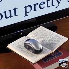 Wireless Visual Aids - Color TV Low Vision Video Magnifier Newspaper Mouse Reader, this can be used by placing the mouse over the words, the words appear largly on the screen.