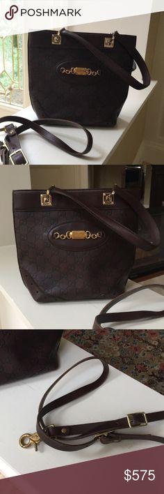 d67acbfb44b2 GUCCI Bag More Pics More pics. Cross body strap not Gucci, bag is.