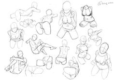 Pin on Art reference poses Drawing Female Body, Body Reference Drawing, Human Drawing, Drawing Reference Poses, Drawing Base, Drawing Sketches, Art Drawings, Drawing Tips, Figure Sketching