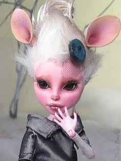 OOAK Monster high custom doll Repaint by Nickii Rose