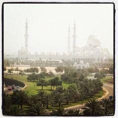 Grand Mosquée @Abu Dhabi