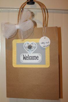 Wedding Guest gift bag by selina51 on Etsy, $3.50