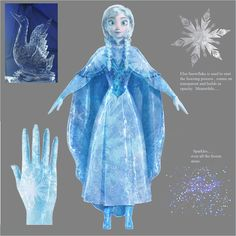 A great example of attention to detail in Disney movies :) something like how Anna looks when she's frozen can be discussed and experimented with for months before it's considered ready for film! I love their dedication! Disney Kunst, Arte Disney, Disney Magic, Disney Art, Anna Concept Art, Disney Concept Art, Disney Insider, Frozen Drawings, Disney Drawings