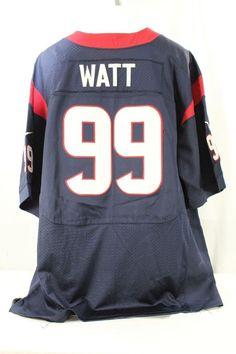 Houston Texans J.J. Watt  99 Blue Jersey Nike Onfield 52 Stitched  f22beb491
