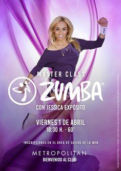 Master Class de Zumba con #JessicaExpósito en Metropolitan Begoña.