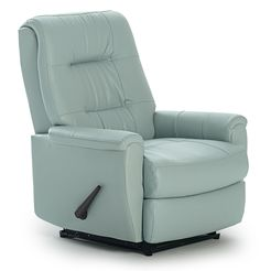 Recliners - Petite Swivel Rocker Recliner by Best Home Furnishings