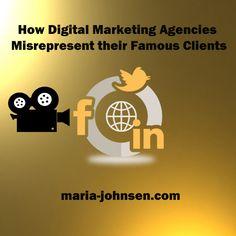 How Digital Marketing Agencies Misrepresent their Famous Clients  | Million Dollar Blog
