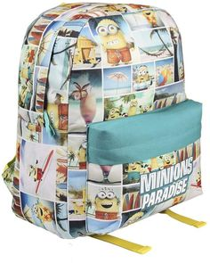 Minions, Backpacks, Bags, School Backpacks, Purses, Totes, Backpack, Lv Bags, Hand Bags
