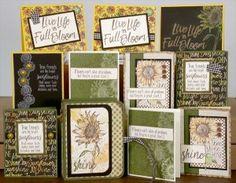 Sunflowers Club Stamp - Club Scrap